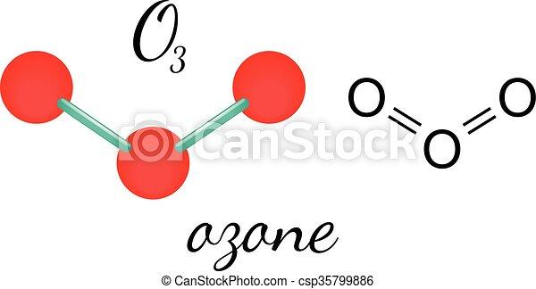 Ozon O3 Molekül