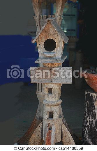 Casa de pájaros. - csp14480559