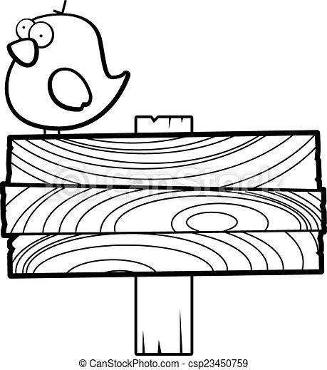 Señal de pájaro - csp23450759