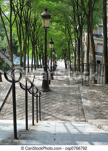 párizs, 3, lépcsősor - csp0766792
