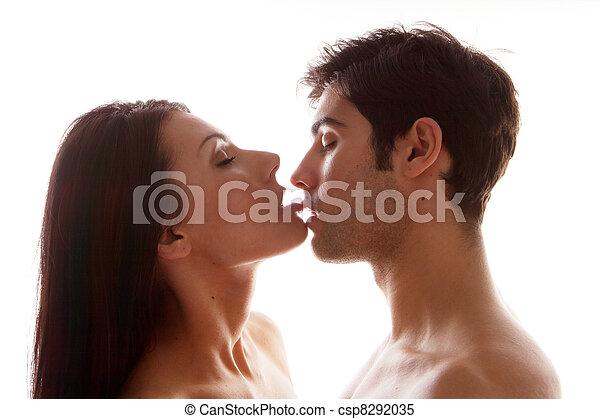 Leszbikusok szexelnek és csókolnak