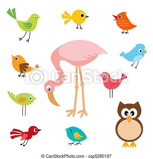 pássaros - csp5280197