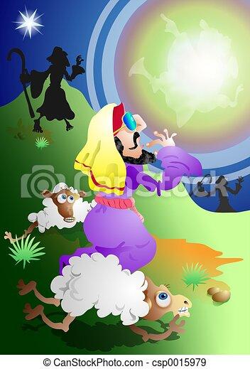 pásztor, angyal - csp0015979