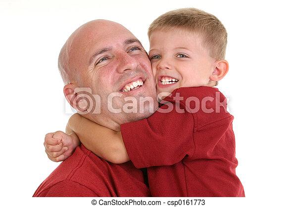 père, famille, fils - csp0161773