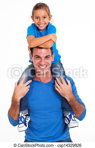père, fille - csp14329826