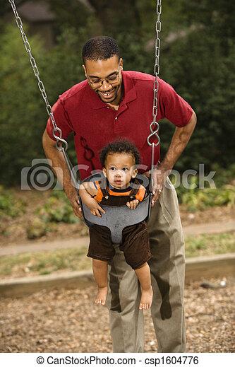 père, fils - csp1604776