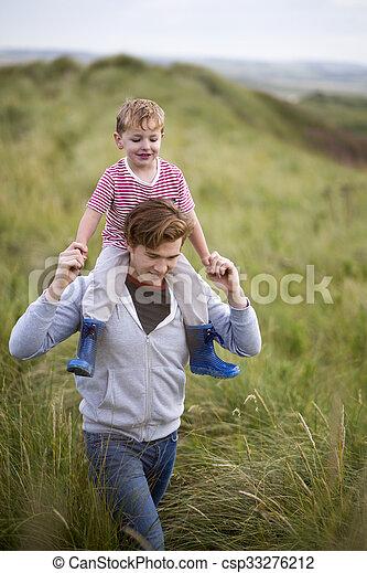 père, fils, liaison - csp33276212