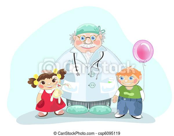 pédiatre - csp6095119