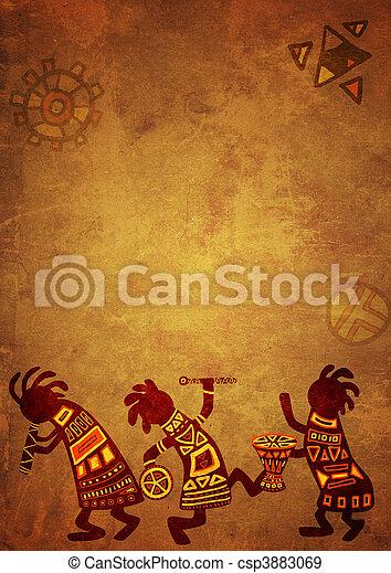 példa, nemzeti, afrikai - csp3883069