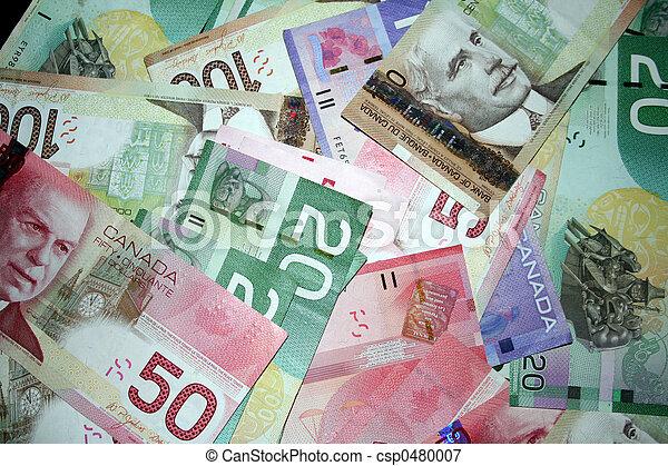 pénz, kanadai - csp0480007