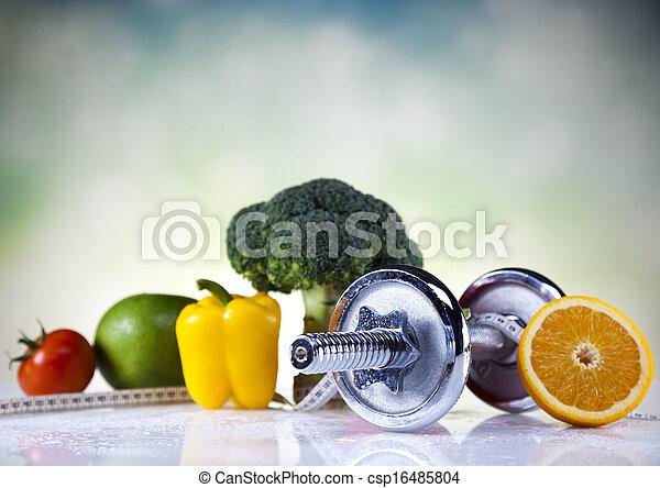 pérdida de peso, condición física - csp16485804