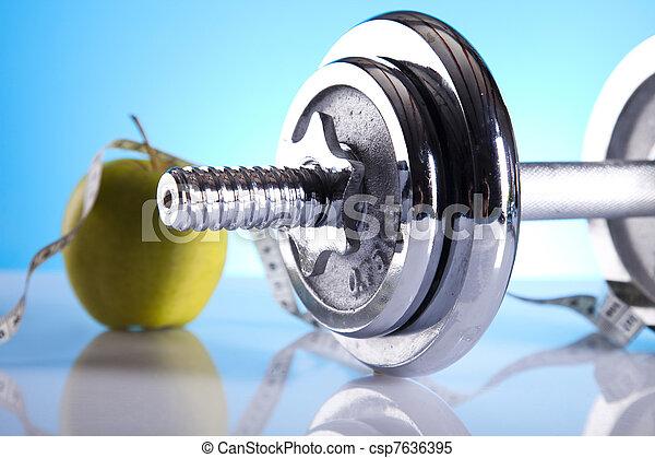 pérdida de peso, condición física - csp7636395
