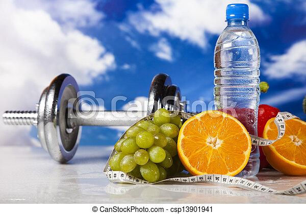 pérdida de peso, condición física - csp13901941