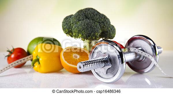 pérdida de peso, condición física - csp16486346