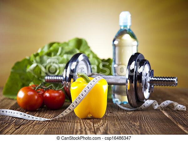 pérdida de peso, condición física - csp16486347