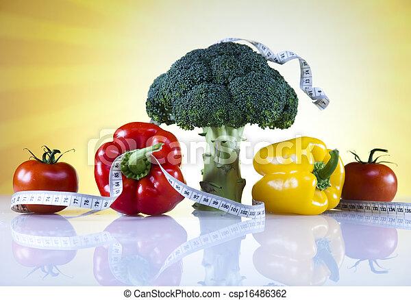 pérdida de peso, condición física - csp16486362