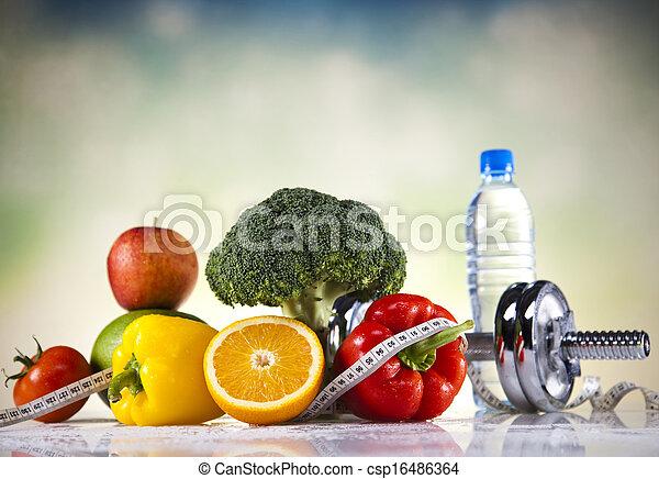 pérdida de peso, condición física - csp16486364