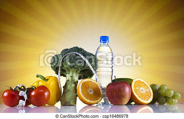 pérdida de peso, condición física - csp16486978
