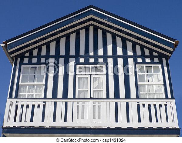 P cheur maison portugal typique costa nova portugal p cheur typique maison - Maison de pecheur portugal ...