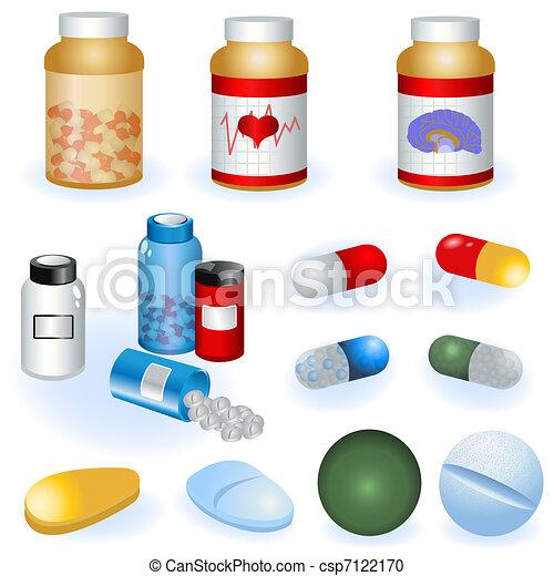 Coleccion de pastillas - csp7122170