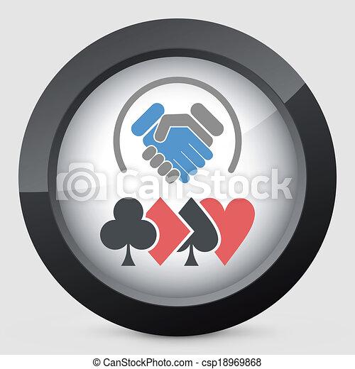 Desafío de póker - csp18969868