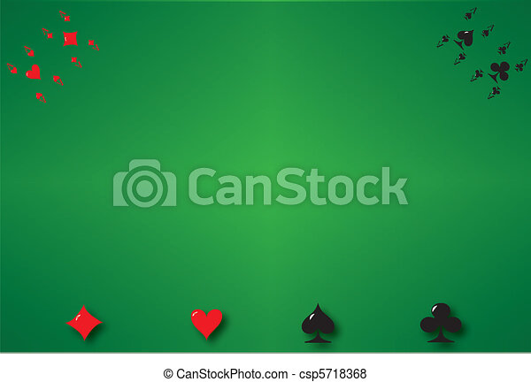 Póker de fondo - csp5718368
