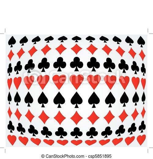 Antecedentes de póker sin daños - csp5851895