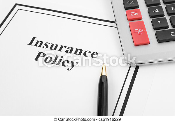 Política de seguros - csp1916229