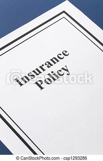 Política de seguros - csp1293286
