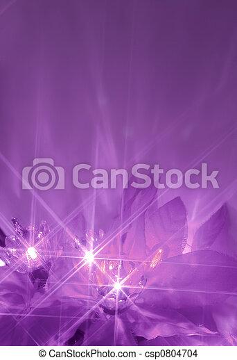 púrpura, luces - csp0804704