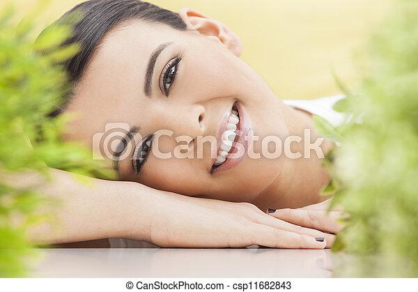 překrásný, pojem, blbeček, manželka, zdraví, usmívaní - csp11682843