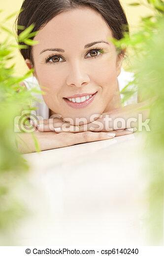 překrásný, pojem, blbeček, manželka, zdraví, usmívaní - csp6140240