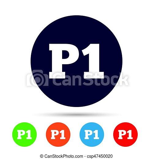 P1, boden, auto, symbol., parken, icon., zuerst. Wohnung, p1, boden ...