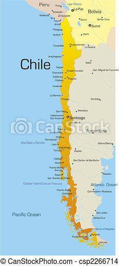 País de Chile - csp2266714