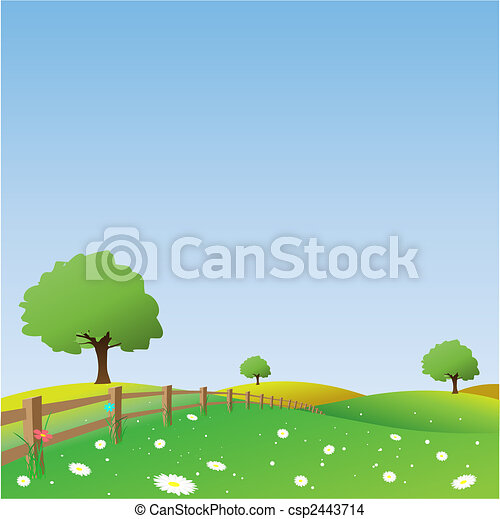 país, paisagem - csp2443714