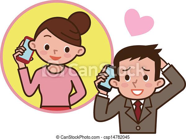 paar, liefde - csp14782045