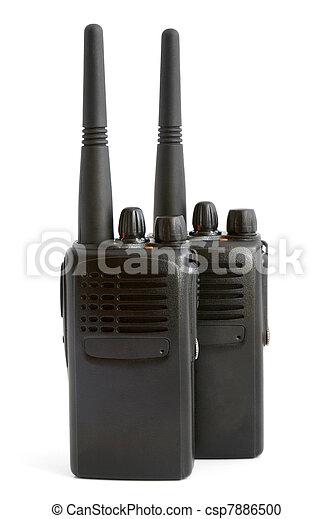 paar, radio, tragbar, sätze - csp7886500