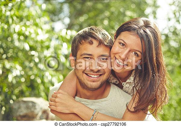 Romantisches Paar - csp27792106