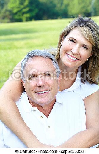 paar, senioren - csp5256358