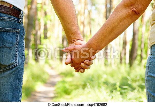 paar, senioren - csp4762682