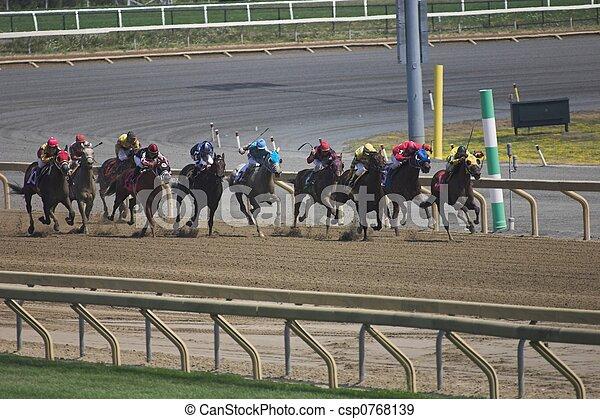 paard te rennen - csp0768139