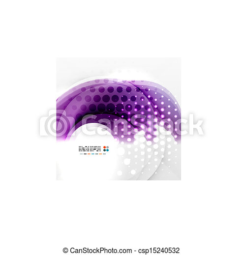 paarse , kolken, abstract ontwerp - csp15240532
