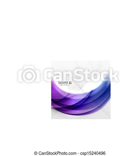 paarse , kolken, abstract ontwerp - csp15240496