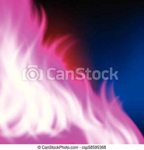 paarse , regenboog, abstract, vuur, achtergrond - csp58595368