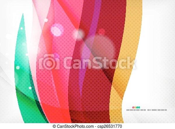 paarse , regenboog, kolken, achtergrond - csp26531770