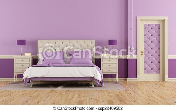 Paarse Accessoires Slaapkamer : Paars wit complete slaapkamer kast en ladenkast kopen complete
