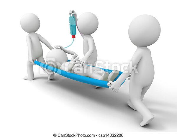 Ayuda, paciente - csp14032206
