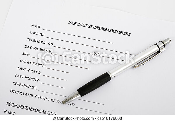 paciente, forma - csp18176068