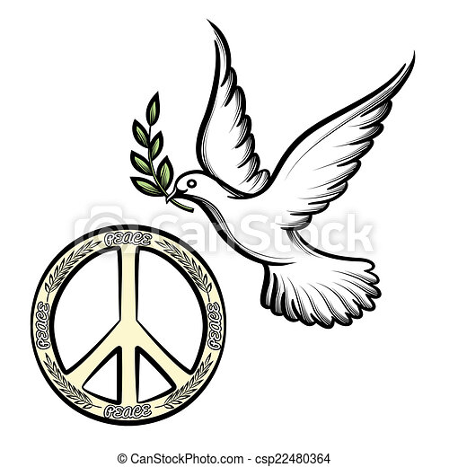 Pacific And The Dove Of Peace Pacific Anti War Symbol For Nuclear