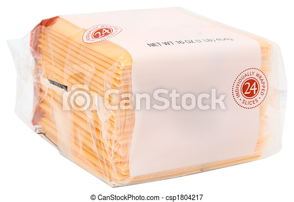 Package American Cheese - csp1804217